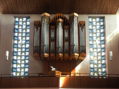 Sauer-Orgel in St. Marien - Bad Lippspringe